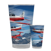Full Color Glass 17oz-PC-7 MKII 3 Aircrafts