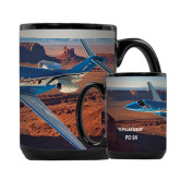 Full Color Black Mug 15oz-PC-24 Rough Block Mtns