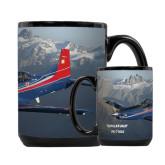 Full Color Black Mug 15oz-PC-7 MKII Rocky Terrain