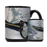 Full Color Black Mug 15oz-PC-9 M Over Mtn Terrain