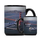 Full Color Black Mug 15oz-PC-12 NG Bridge View