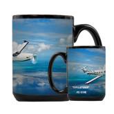 Full Color Black Mug 15oz-PC-12 NG Ocean View