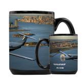 Full Color Black Mug 15oz-PC-12 NG New York View