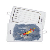 Luggage Tag-PC-6 Over Snowy Mountains