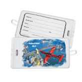 Luggage Tag-PC-21 City Bridge View