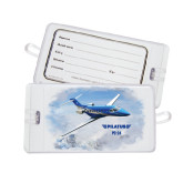 Luggage Tag-PC-24 Over Snowy Mtns