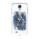 White Samsung Galaxy S4 Cover-PC-6 Over Snowy Cliff