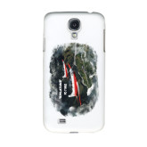 White Samsung Galaxy S4 Cover-PC-7 MKII 2 Aircrafts Over Green Terrain