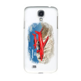 White Samsung Galaxy S4 Cover-PC-21 2 Aircrafts Over Snow Cliffs