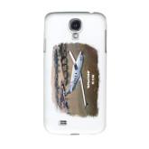 White Samsung Galaxy S4 Cover-PC-12 NG City Lake View
