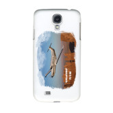 White Samsung Galaxy S4 Cover-PC-12 NG Over Block Mtns