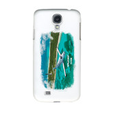 White Samsung Galaxy S4 Cover-PC-12 NG Island Shore