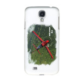 White Samsung Galaxy S4 Cover-PC-21 Green Terrain