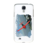 White Samsung Galaxy S4 Cover-PC-21 Mountain Shore