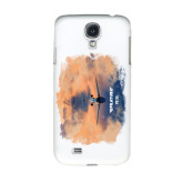 White Samsung Galaxy S4 Cover-PC-24 Sunset On Clouds