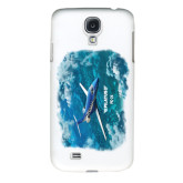 White Samsung Galaxy S4 Cover-PC-24 Ocean View