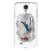 White Samsung Galaxy S4 Cover-PC-24 Clouded Bridge
