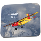 Full Color Mousepad-PC-6 Over Snowy Mountains