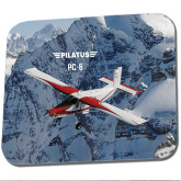 Full Color Mousepad-PC-6 Over Snowy Cliff