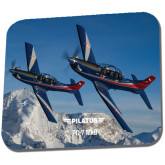 Full Color Mousepad-PC-7 MKIIs over Snow Cliffs