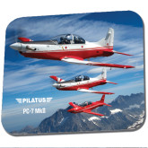 Full Color Mousepad-PC-7 MKII 3 Aircrafts