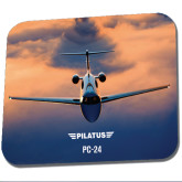 Full Color Mousepad-PC-24 Sunset On Clouds