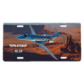 License Plate-PC-24 Rough Block Mtns
