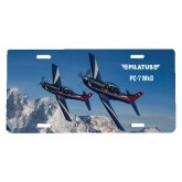 License Plate-PC-7 MKIIs over Snow Cliffs
