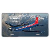 License Plate-PC-7 MKII Rocky Terrain
