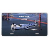 License Plate-PC-12 NG Bridge View