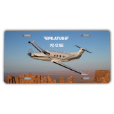 License Plate-PC-12 NG Over Block Mtns