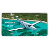 License Plate-PC-12 NG Island Shore