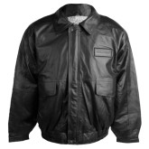 Mens Black Leather Jacket-