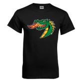 Black T Shirt-Dragon Head
