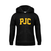 Youth Black Fleece Hoodie-PJC