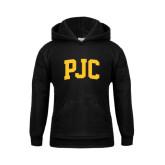Youth Black Fleece Hood-PJC