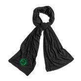 Black Eco Jersey Bundle Up Scarf-Primary Mark