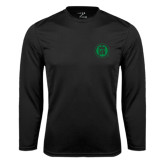 Syntrel Performance Black Longsleeve Shirt-Primary Mark