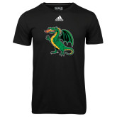 Adidas Climalite Black Ultimate Performance Tee-Secondary Mark