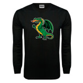 Black Long Sleeve TShirt-Secondary Mark
