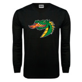 Black Long Sleeve TShirt-Dragon Head