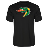 Syntrel Performance Black Tee-Dragon Head