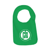 Kelly Green Baby Bib-Primary Mark