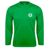 Syntrel Performance Kelly Green Longsleeve Shirt-Primary Mark