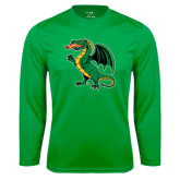 Syntrel Performance Kelly Green Longsleeve Shirt-Secondary Mark