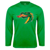 Syntrel Performance Kelly Green Longsleeve Shirt-Dragon Head