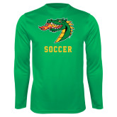 Syntrel Performance Kelly Green Longsleeve Shirt-Soccer