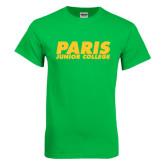 Kelly Green T Shirt-Paris Junior College