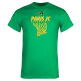 Kelly Green T Shirt-Basketball Net