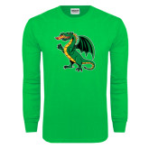 Kelly Green Long Sleeve T Shirt-Secondary Mark